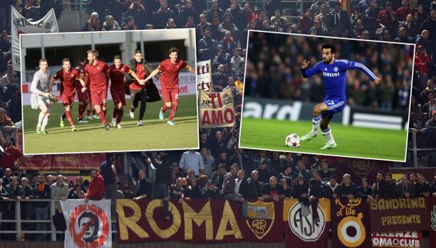 روما يحتفي بانضمام